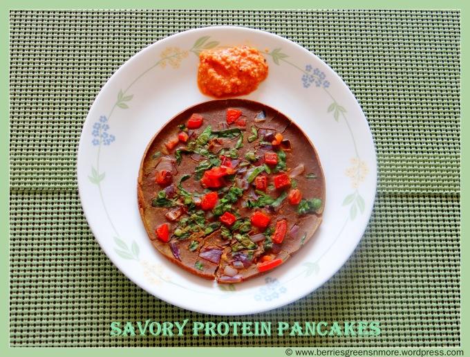 Savory Protein Pancakes