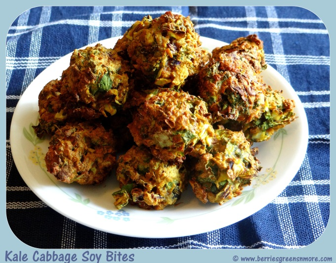 Kale Cabbage Soy Bites