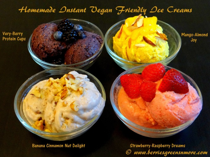 Vegan Friednly Ice Creams
