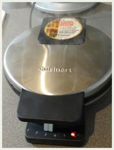 Waffle Uthappam