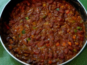 Roti Bean Enchiladas