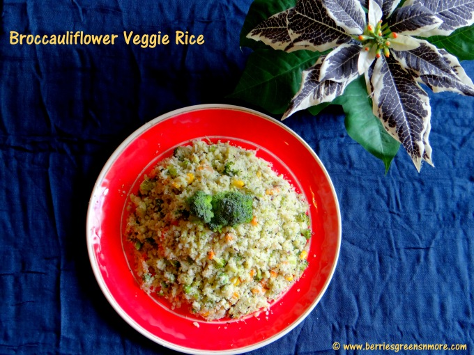 Broccauliflower Veggie Rice