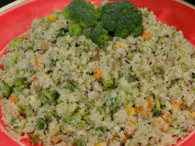 Broccauliflower Veggie Rice